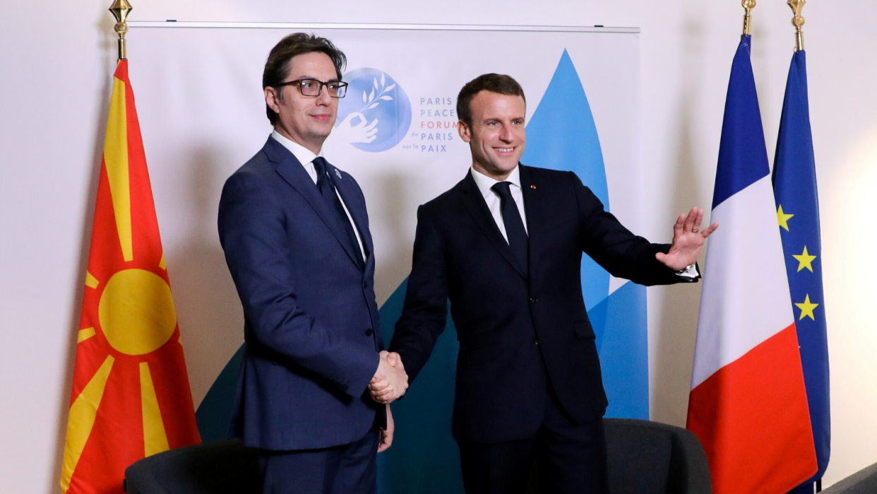 Macron Is Gambling Away Eu Influence In Balkans Dgap