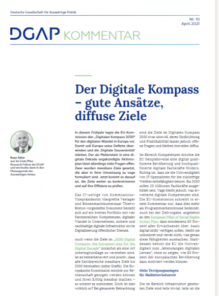 Cover Kommentar Digitaler Kompass